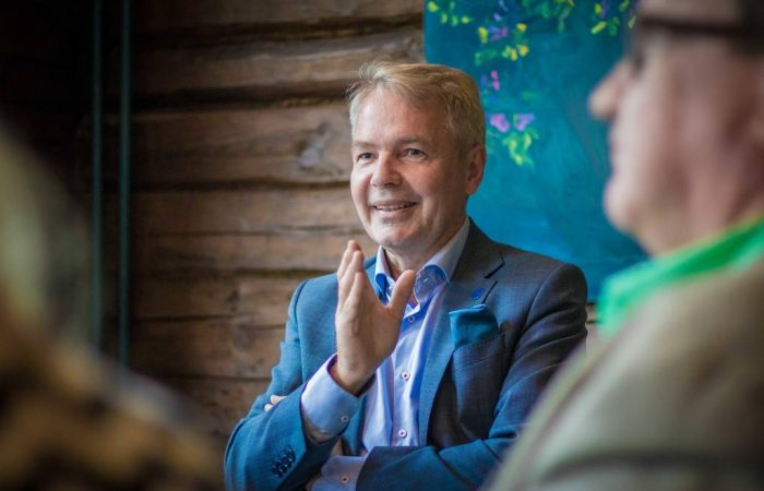 Finnish FM calls for unity in fight against COVID-19