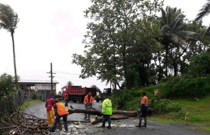 Fiji: two dead as powerful cyclone tears across Pacific nation
