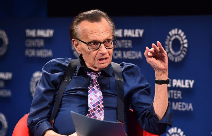 Larry King in hospital with COVID-19
