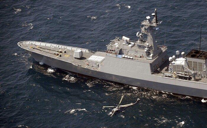 South Korea moves a warship away from Hormuz