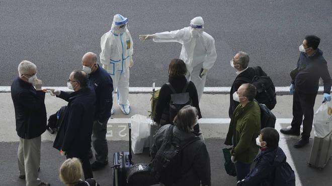 WHO team arrives in Wuhan to investigate virus origins