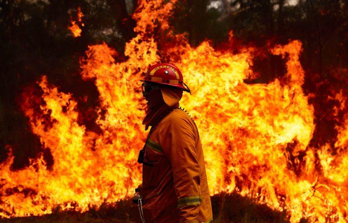 Australia: heatwave raises bushfire danger