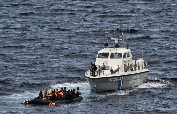 Turkey rescues nearly 80 migrants in Aegean sea