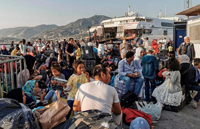 Migrant arrivals in Greece dropped 80 percent in 2020