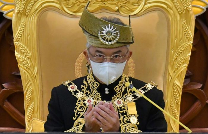 Malaysia's king declares COVID-19 emergency