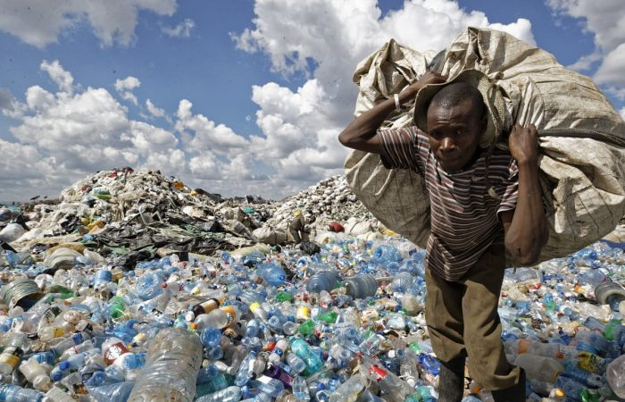 African startup recycles plastic into bricks stronger than concrete