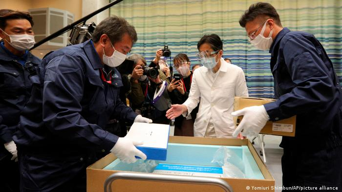 Japan starts COVID mass vaccination