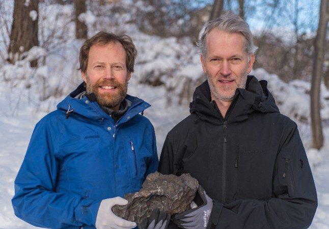 Sweden got its first ever new-fallen iron meteorite