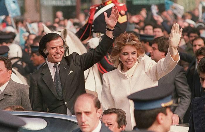 Carlos Menem, former Argentina's President, died aged 90