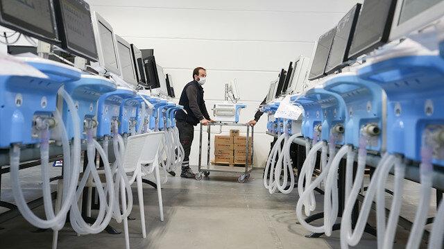 Turkey donates 5,000 medical ventilators