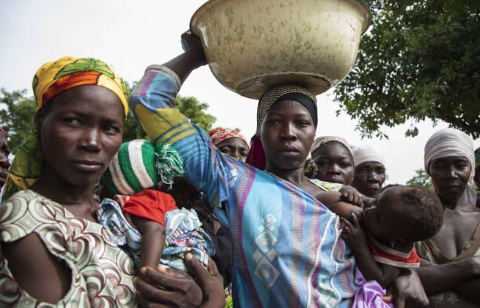 UN seeks US$164 mln for displaced Central Africans