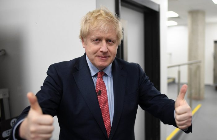 PM Johnson praises 'great spirit' shown by UK in tackling COVID-19