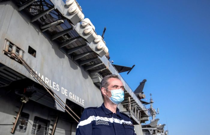 Nuclear-powered 'Charles de Gaulle' aircraft carrier arrives in Abu Dhabi