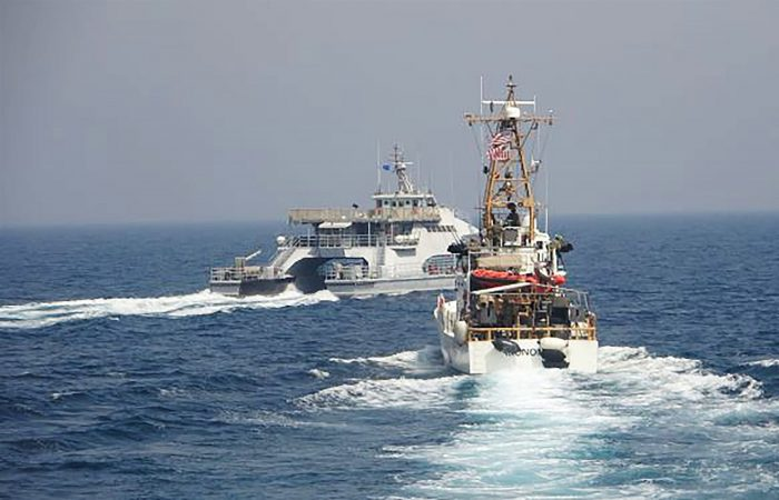US Navy: Iranian ships swarmed US Coast Guard vessels in 'unsafe' maneuvers