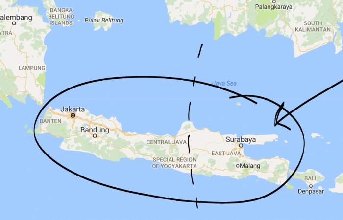 Eight die as Indonesia quake shakes East Java