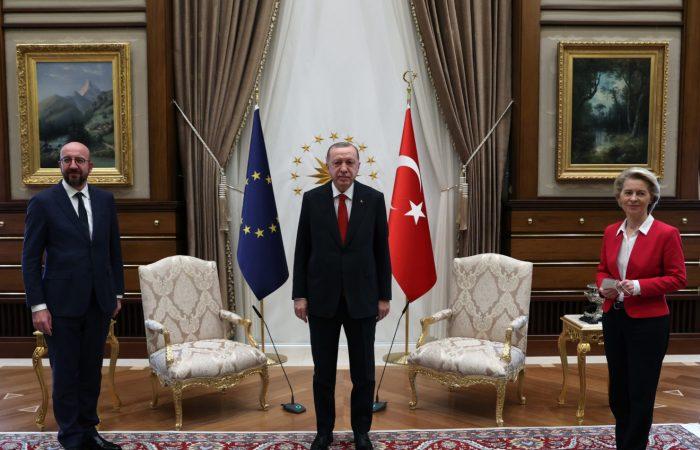 Turkey's talks with top EU officials positive