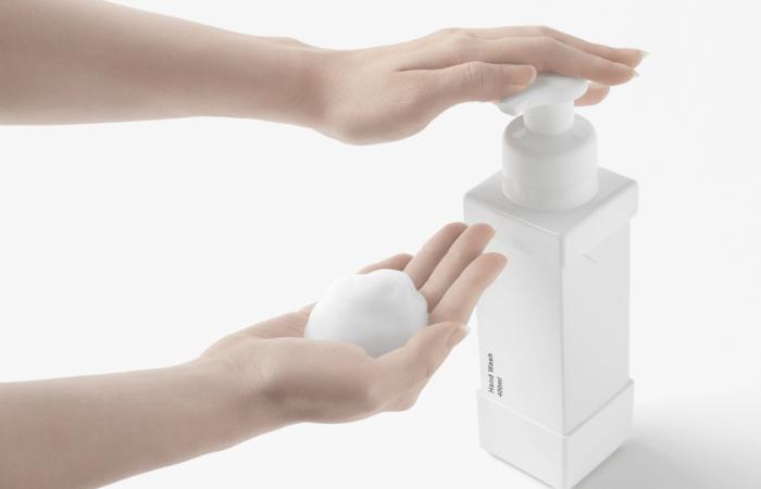 Paper carton soap dispenser could replace plastic bottles