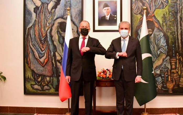 Russian FM holds talks with Pakistani counterpart