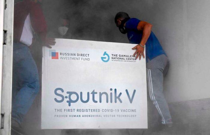 Russia's Sputnik V vaccine arrives in Libya's Tripoli
