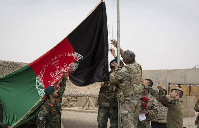 Pentagon sends more reinforcements for Afghan pullout