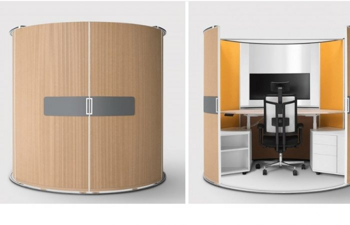 Self-contained office can be used after lockdowns
