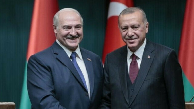 Presidents Erdogan, Lukashenka speak over phone
