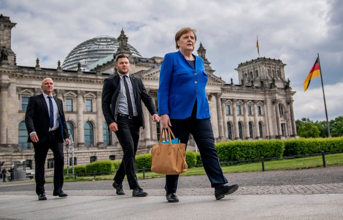 Angela Merkel will paid a visit in White House on July 15