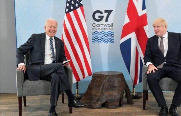 UK PM Johnson opens G7 summit in Cornwall