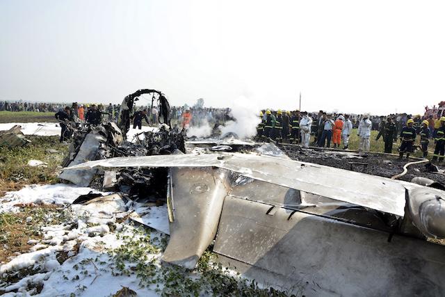 Myanmar military plane crash kills 12, including senior monk