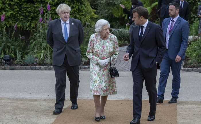 G7 world leaders meet the Queen in Cornwall