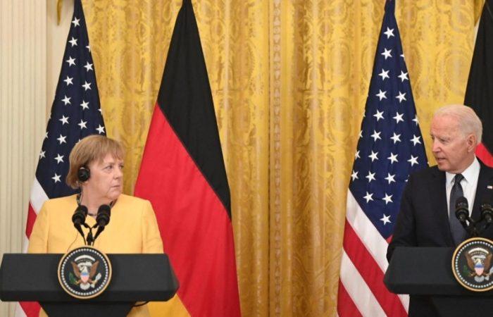 Merkel, Biden failed to find a common ground over Nord Stream 2 pipeline