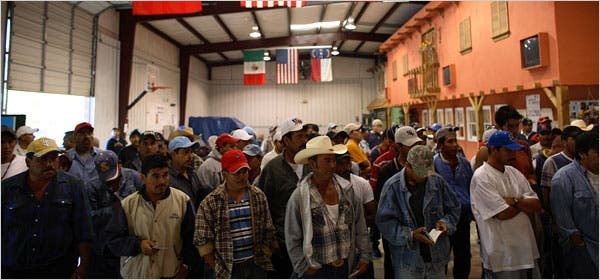 Mexican workers abroad send record cash back home