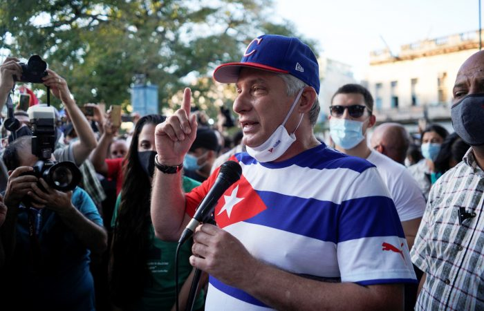 UN rights chief calls on Cuba to release protesters