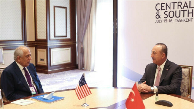 Turkey's foreign minister, US envoy discuss Afghan peace process