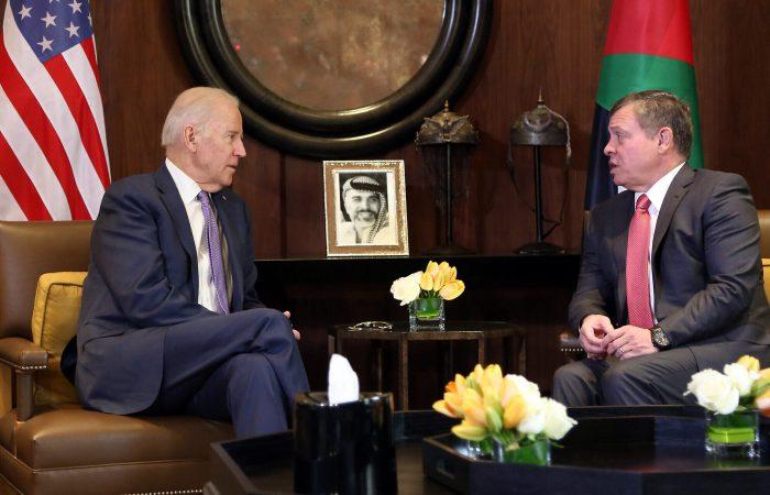Jordan's King visits the White House