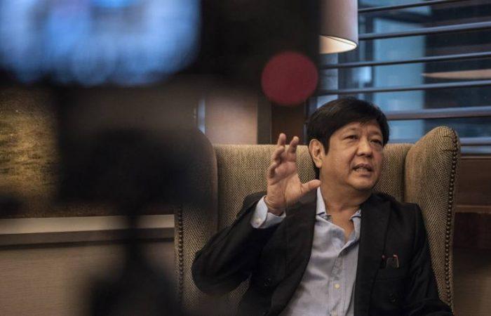 Philippine dictator Marcos' son opens door to presidential bid