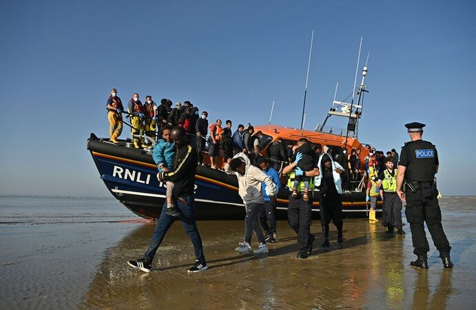 UK prepares to force back migrant boats crossing the Channel