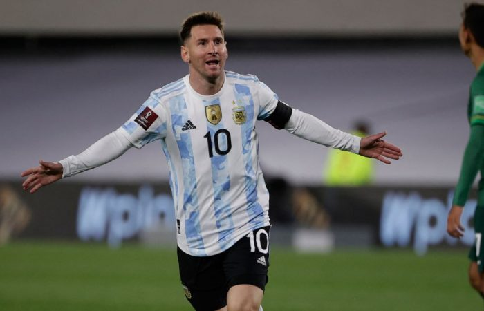 Messi breaks Pelé's record with a hat-trick as Argentina see off Bolivia