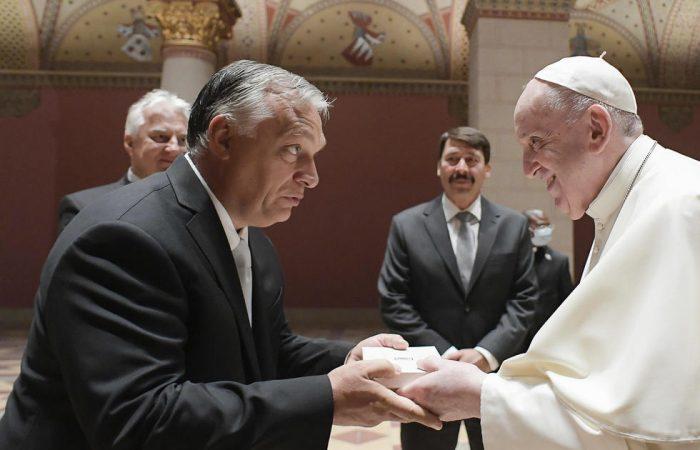 The pontiff rails against vaccine 'denier' cardinals