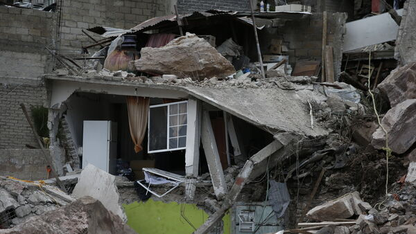 Death toll in Mexico City landslide rises to four