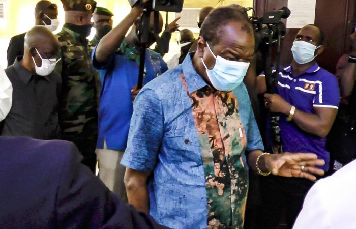 Guinea refuses to allow deposed President to leave the country