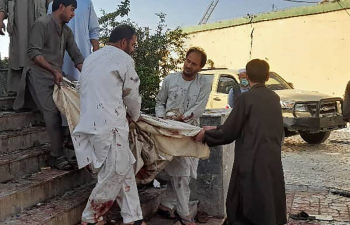 Dozens killed in Shiite mosque explosion in Afghanistan's Kunduz