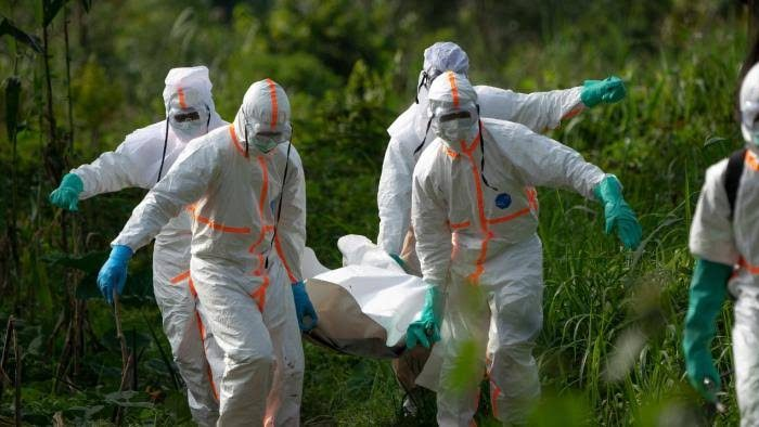 DR Congo government reported an outbreak of Ebola